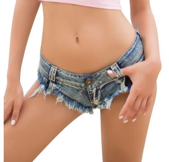 超セクシー 美しい女性に夏のビーチパンツ デニム ジーンズのショートパンツ Tバック セクシー ショートパンツ♪夏 ビーチ プ プール 203-1_画像3
