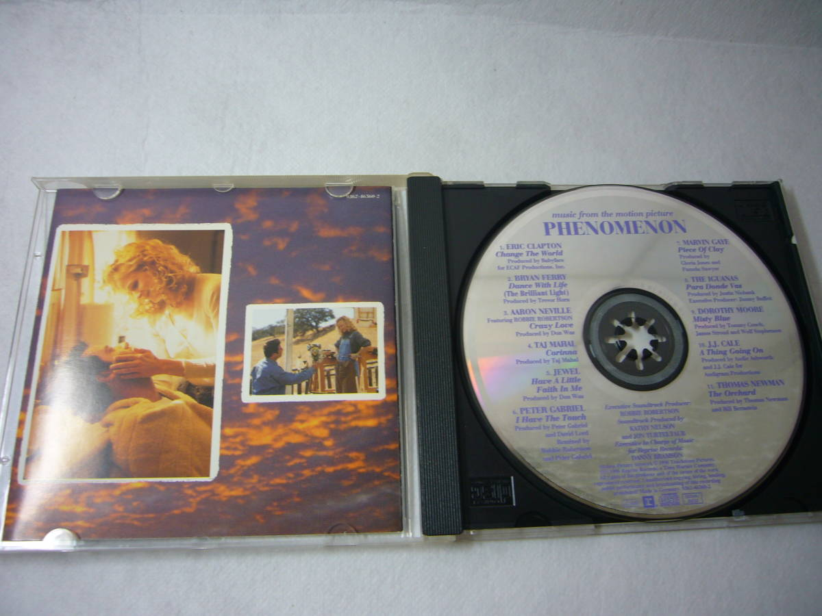 サントラ盤CD 「phenomenon」ジョントラボルタ