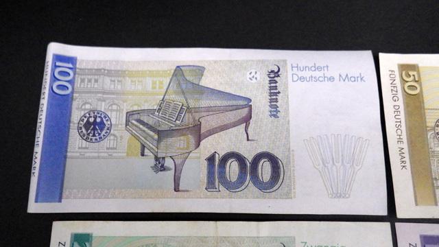 外国紙幣/ドイツ/100マルク/50マルク/20マルク/10マルク/4枚セット/1円スタート☆Q536_画像7