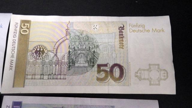 外国紙幣/ドイツ/100マルク/50マルク/20マルク/10マルク/4枚セット/1円スタート☆Q536_画像8