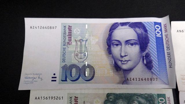 外国紙幣/ドイツ/100マルク/50マルク/20マルク/10マルク/4枚セット/1円スタート☆Q536_画像2