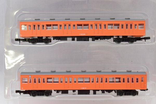 ☆☆鉄道コレクション 国鉄 101系 中央線 4両セット_画像3