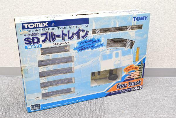 ☆美品☆TOMIX トミックス 90143  ◆ ベーシックセット SD ブルートレイン (Aパターン)