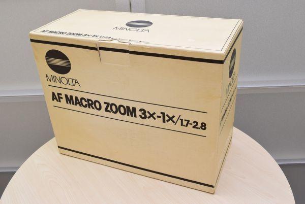 ☆☆MINOLTA ミノルタ AF MACRO ZOOM 3×-1× F1.7-2.8_画像10