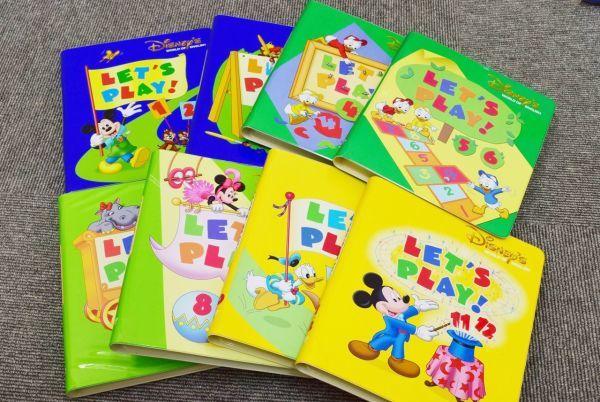 ☆2010年購入☆DWE ディズニー英語 プレイアロング CD・DVD セット + レッツプレイDVD + DVDメイト_画像6