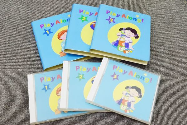 ☆2010年購入☆DWE ディズニー英語 プレイアロング CD・DVD セット + レッツプレイDVD + DVDメイト_画像3