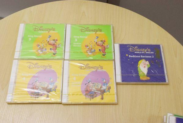 ☆2010年購入☆DWE ディズニー英語 シングアロング CD・DVD セット_画像5