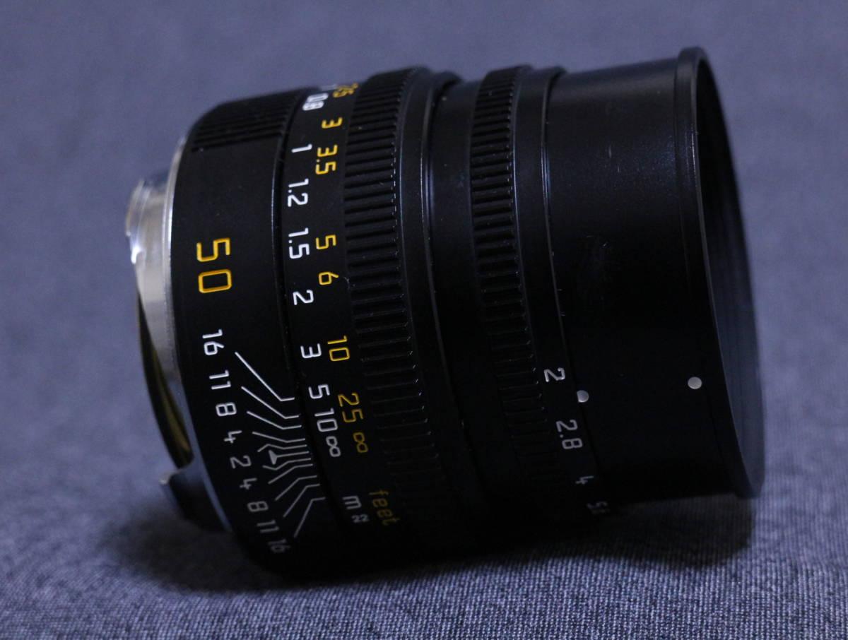 【  チャンス!1,000円スタート 希少美品  】  Leica summicron 50 2_画像4