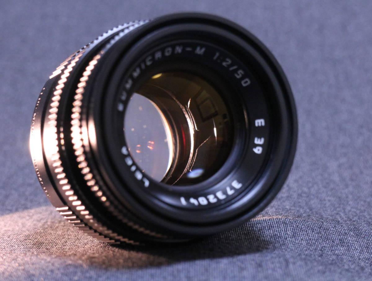 【  チャンス!1,000円スタート 希少美品  】  Leica summicron 50 2_画像10