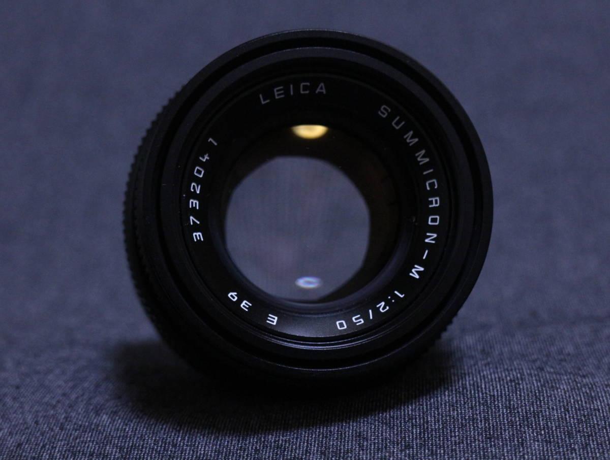 【  チャンス!1,000円スタート 希少美品  】  Leica summicron 50 2_画像6