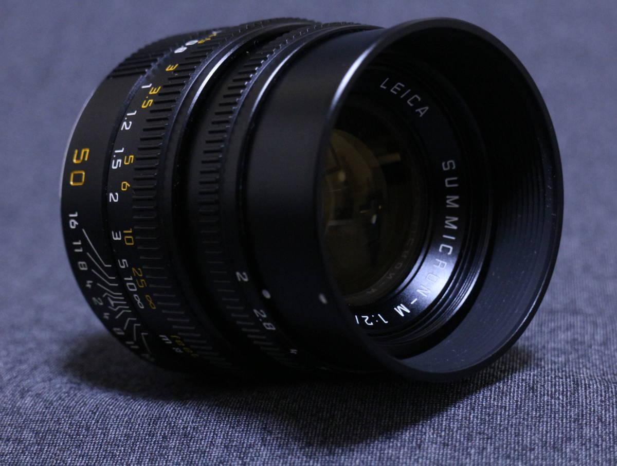 【  チャンス!1,000円スタート 希少美品  】  Leica summicron 50 2_画像5