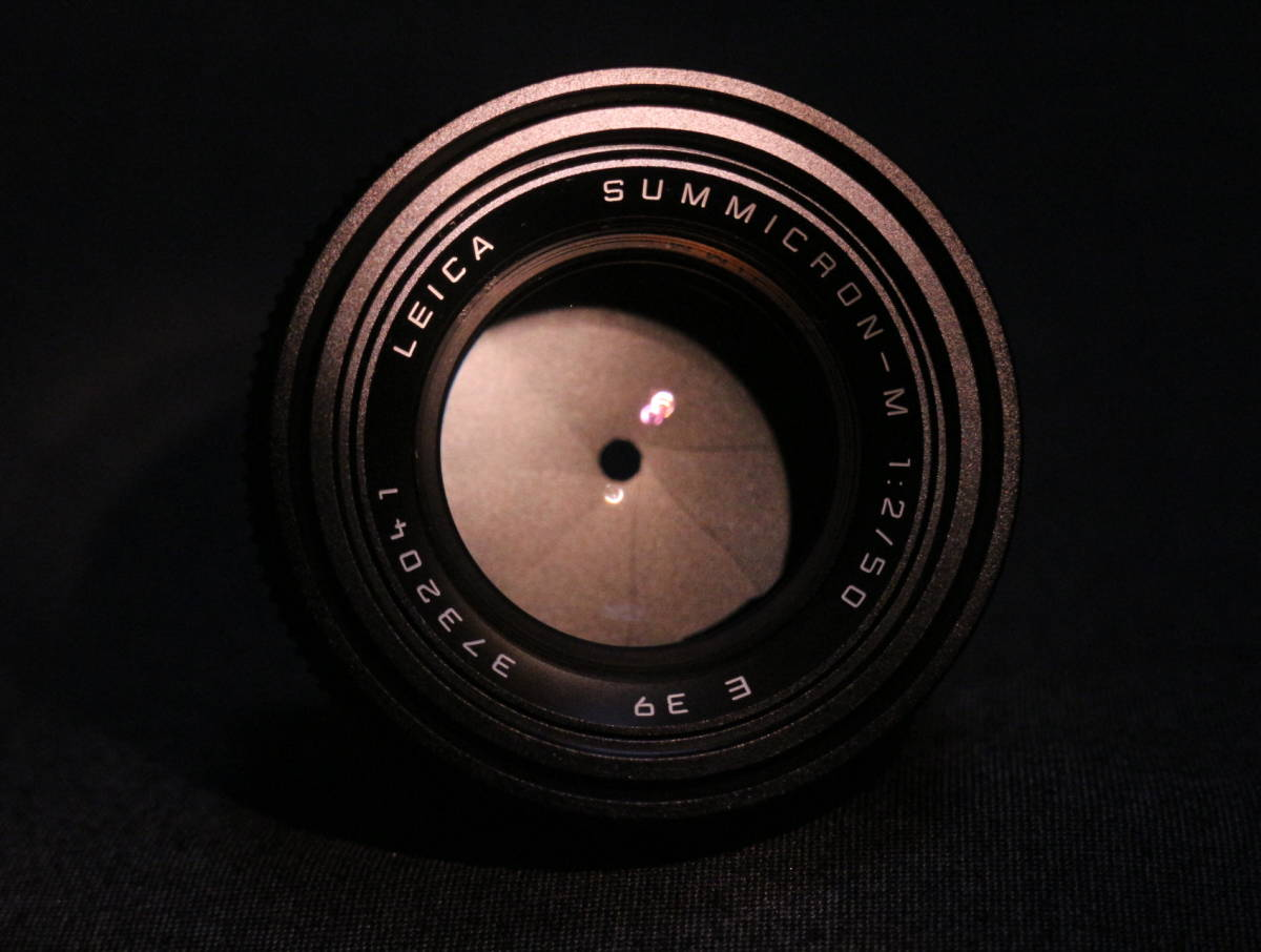 【  チャンス!1,000円スタート 希少美品  】  Leica summicron 50 2_画像8