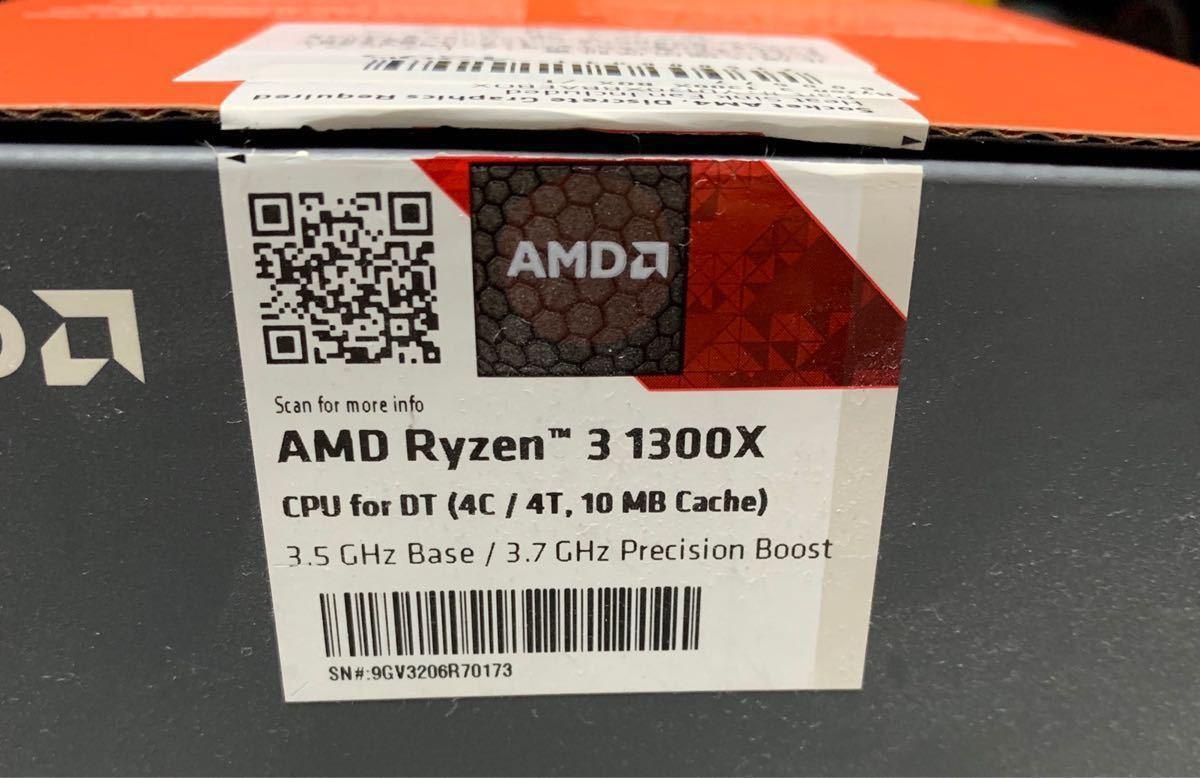 AMD Ryzen 3 1300X 3.50GHz~3.70GHz 動作確認済み 【Socket AM4】_画像2