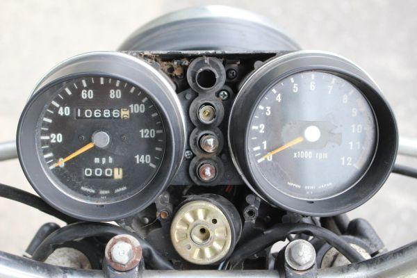 「当時物 500SS レストアベース 部品取り 条件付送料無料 0013 エグリ H1 マッハ KH」の画像3