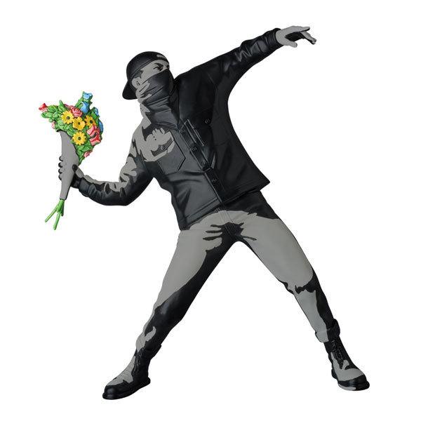 新品 FLOWER BOMBER (WALL IMAGE Ver.) BANKSY バンクシー Sync. フラワーボンバー MEDICOM TOY PLUS 1st Anniversary メディコム・トイ_画像4