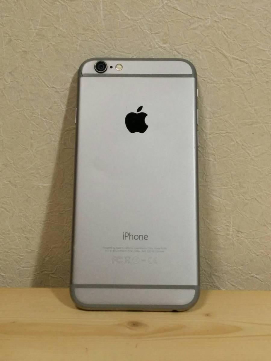 iPhone 6 スペースグレイ 64GB バッテリー100% au【美品】④_画像4