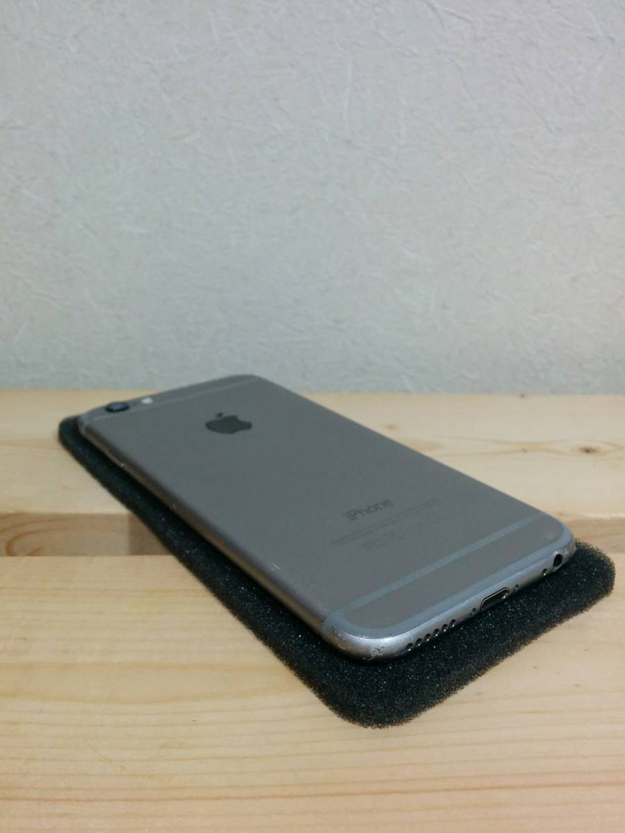 iPhone 6 スペースグレイ 64GB バッテリー100% au【美品】④_画像5