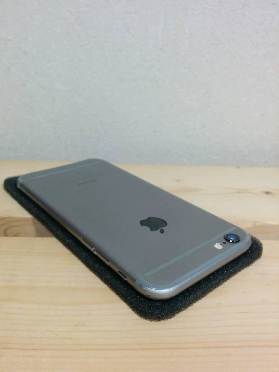 iPhone 6 スペースグレイ 64GB バッテリー100% au【美品】④_画像6