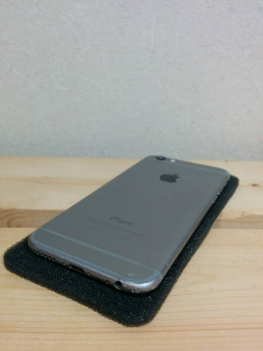 iPhone 6 スペースグレイ 64GB バッテリー100% au【美品】④_画像8