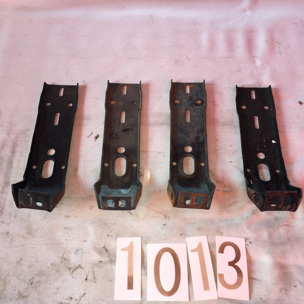 *NO.1013 空冷 VW フォルクスワーゲン タイプ1 type1 T-1 ビートル バンパーブラケット スクエア バンパー フロント リア '75~ON_画像2