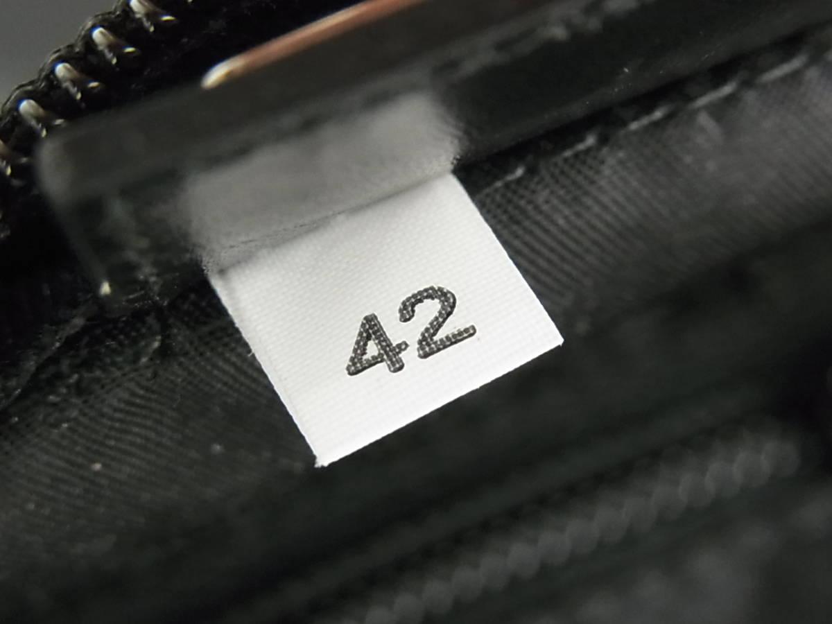 1円 プラダ PRADA 未使用 展示品 イタリア製 ロゴ テスート ナイロン コスメ 化粧 ポーチ 小物入れ マルチケース バッグ Gカード付き_画像9