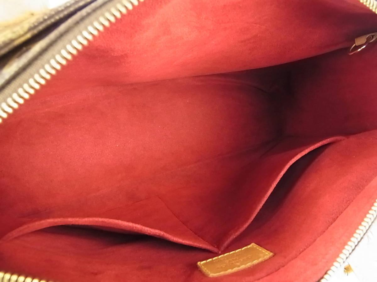 1円 ルイ ヴィトン フランス製 M51162 モノグラム ミュルティプリ シテ 大容量 マルチポケット 肩がけ ショルダー ハンドバッグ_画像8