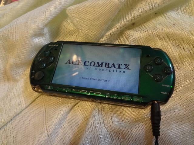 PSP「プレイステーション・ポータブル」 スピリティッド・グリーン (PSP-3000SG)