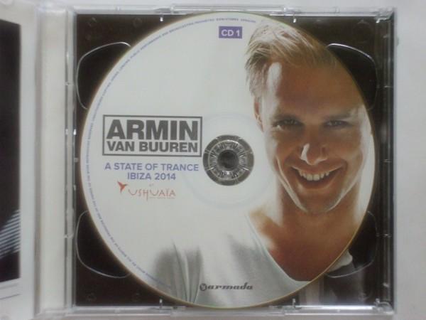即決□MIX-CD / A State Of Trance Ibiza 2014 At Ushuaia mixed by Armin van Buuren□Paul Oakenfold□2,500円以上の落札で送料無料!!_画像3