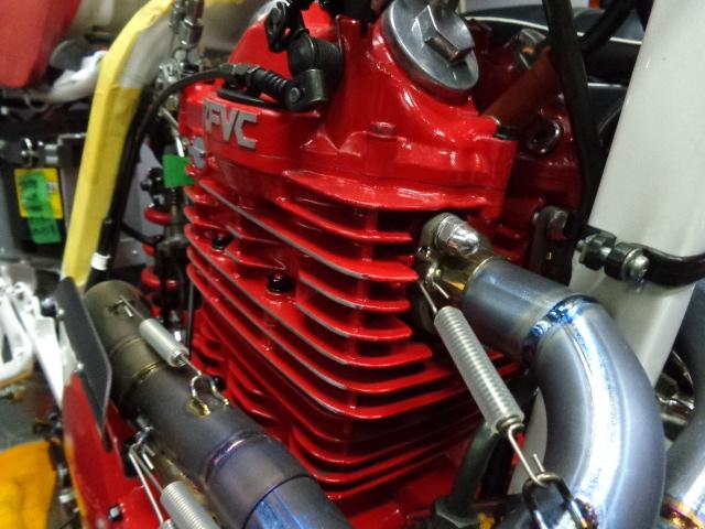 耐熱塗料 AREA  トップヒート  赤 FZ RZ V-MAX FZR TZR TZ TW SR DT RM _画像4