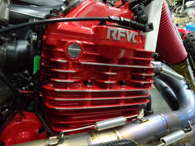 耐熱塗料 AREA  トップヒート  赤 FZ RZ V-MAX FZR TZR TZ TW SR DT RM _画像5
