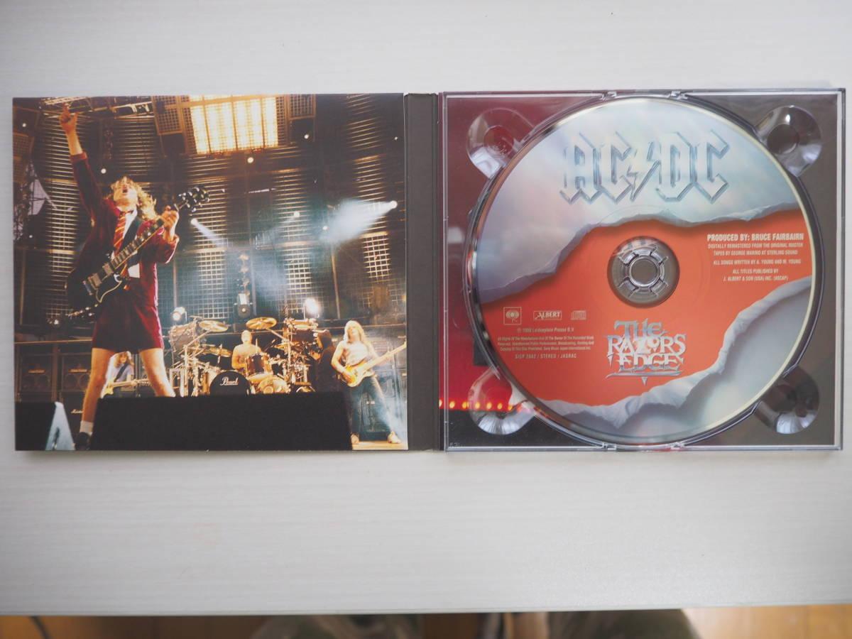 【値下げ!】★新品同様★メタル名盤AC/DC レイザーズ・エッジ_画像3
