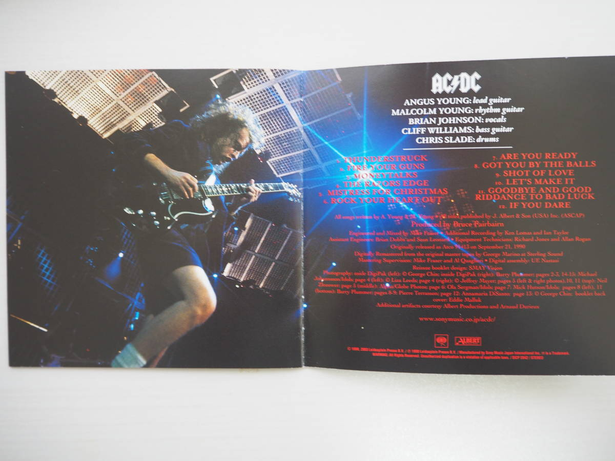 【値下げ!】★新品同様★メタル名盤AC/DC レイザーズ・エッジ_画像5