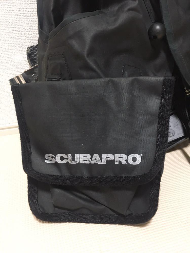 【売り切り】中古 SCUBAPRO スキューバプロ Sプロ フローティングベスト スタビ スタビライジング ジャケット ブラックBC S_画像5
