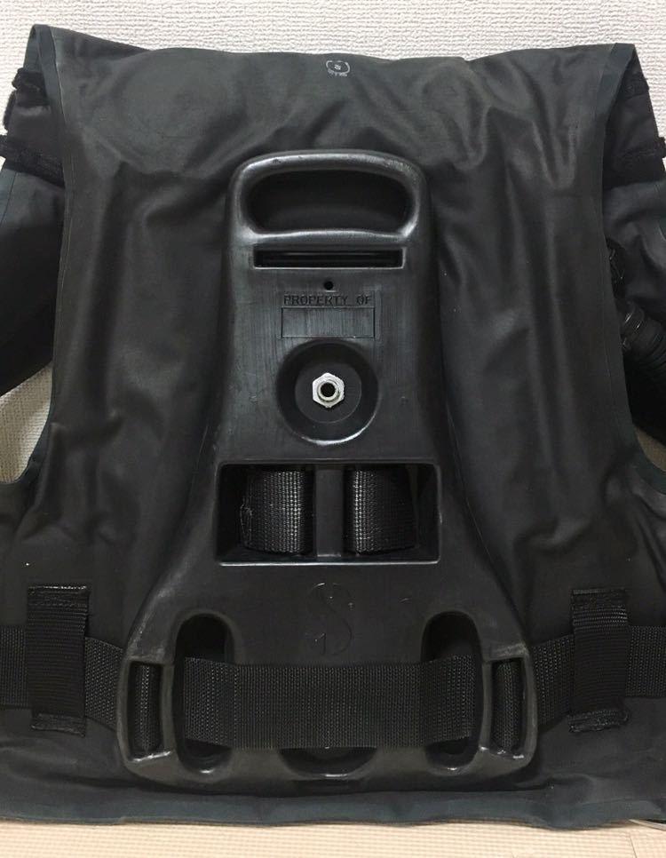 【売り切り】中古 SCUBAPRO スキューバプロ Sプロ フローティングベスト スタビ スタビライジング ジャケット ブラックBC S_画像4