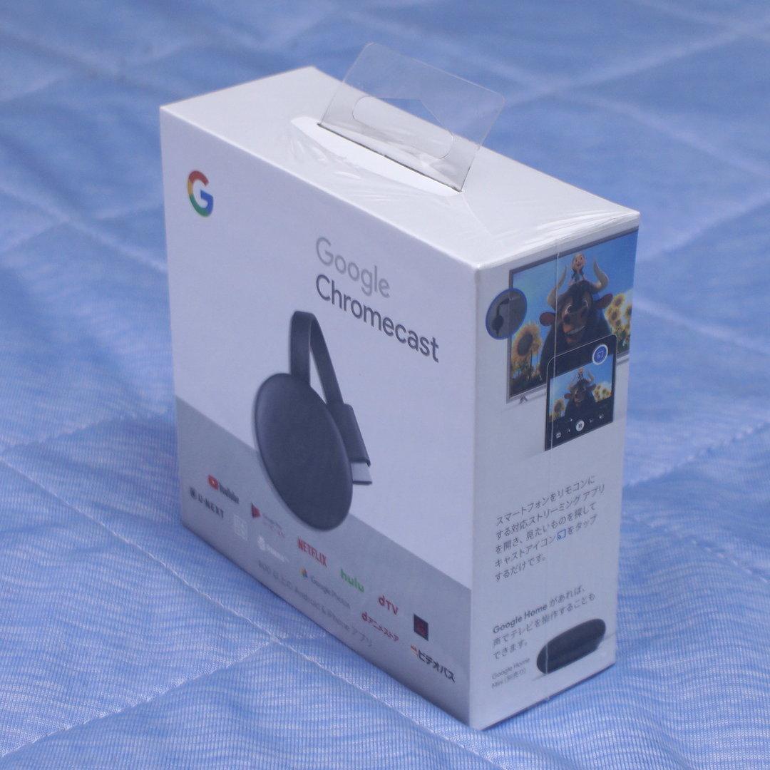 【未開封】Google Chromecast グーグル クロームキャスト (第3世代)_画像3
