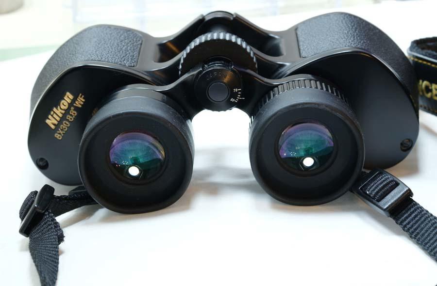 ニコン 双眼鏡  NIKON 8×30 8.8° WF  ポロプリズム式 8X30EⅡ マルチコート_画像3