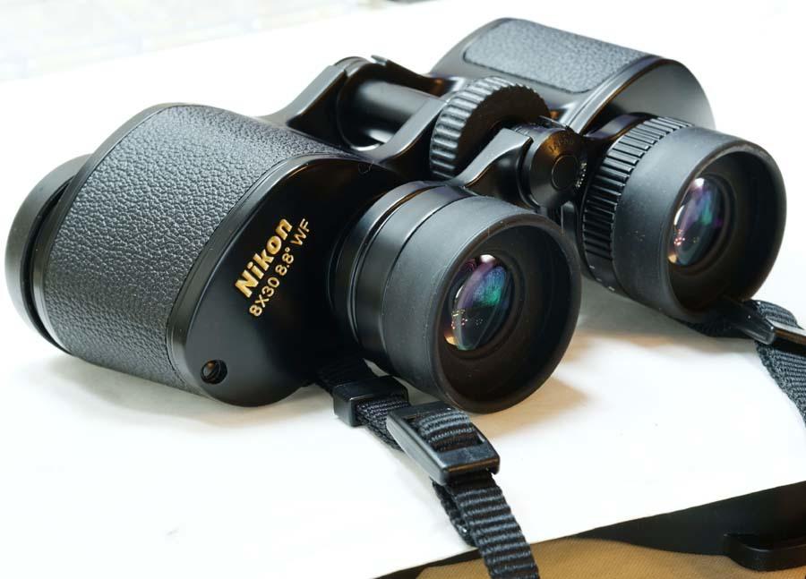 ニコン 双眼鏡  NIKON 8×30 8.8° WF  ポロプリズム式 8X30EⅡ マルチコート