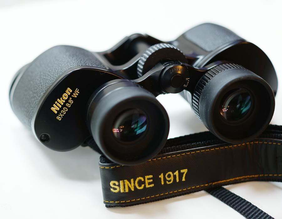 ニコン 双眼鏡  NIKON 8×30 8.8° WF  ポロプリズム式 8X30EⅡ マルチコート_画像2