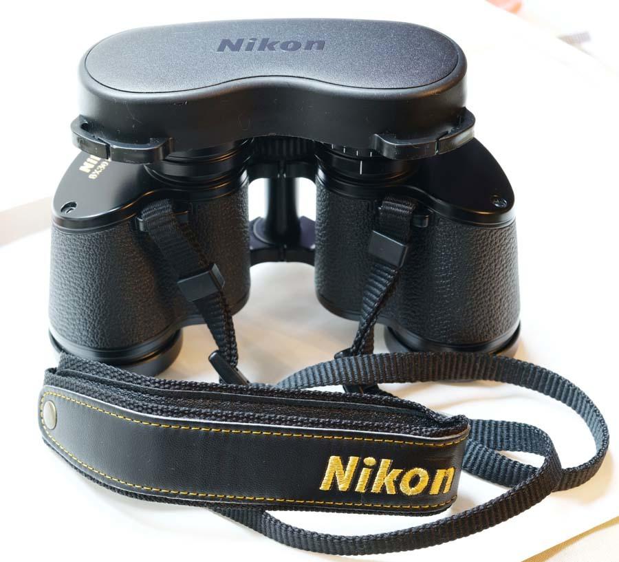 ニコン 双眼鏡  NIKON 8×30 8.8° WF  ポロプリズム式 8X30EⅡ マルチコート_画像7