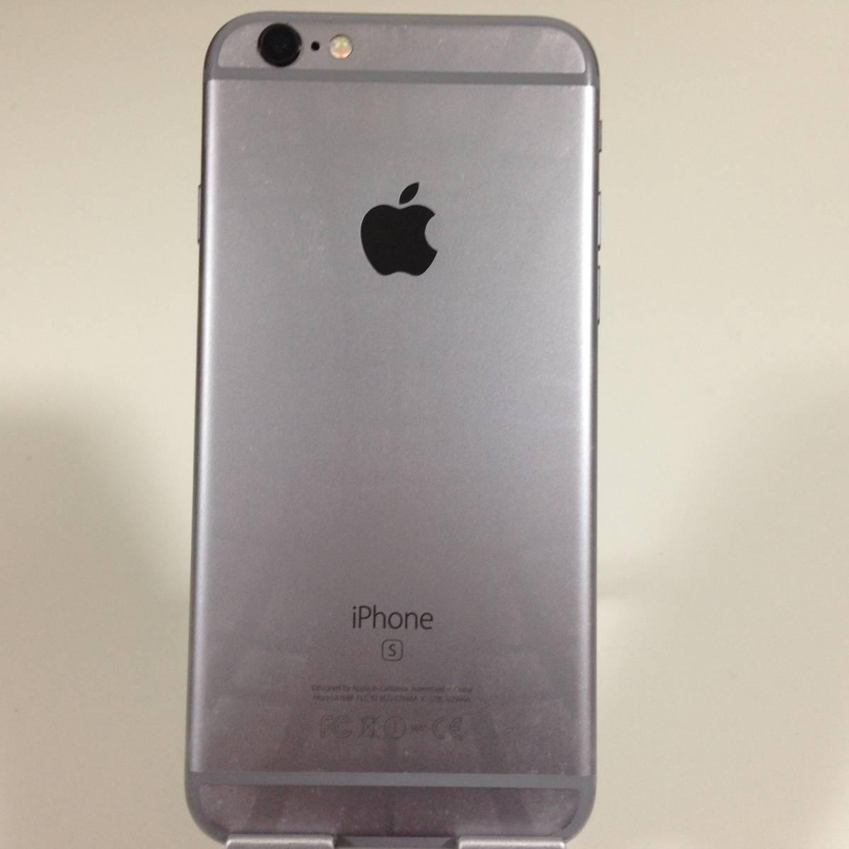 iPhone6s docomo 64GB スペースグレイ MKQN2_d1827_画像2