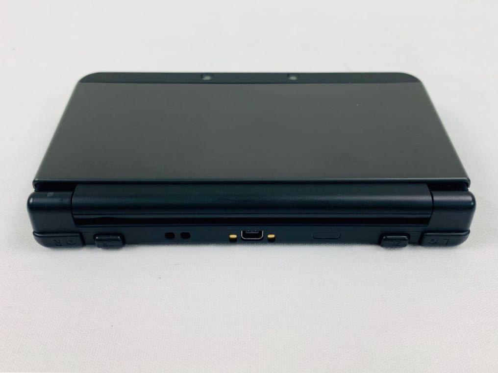 G7145 NEW NINTENDO 3DS 本体 ブラック 完品 着せ替えカバー取り付け済み SDカード挿入済み 動作確認済み 画面美品 中古_画像7