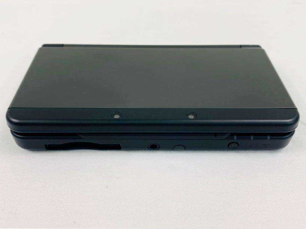 G7145 NEW NINTENDO 3DS 本体 ブラック 完品 着せ替えカバー取り付け済み SDカード挿入済み 動作確認済み 画面美品 中古_画像6