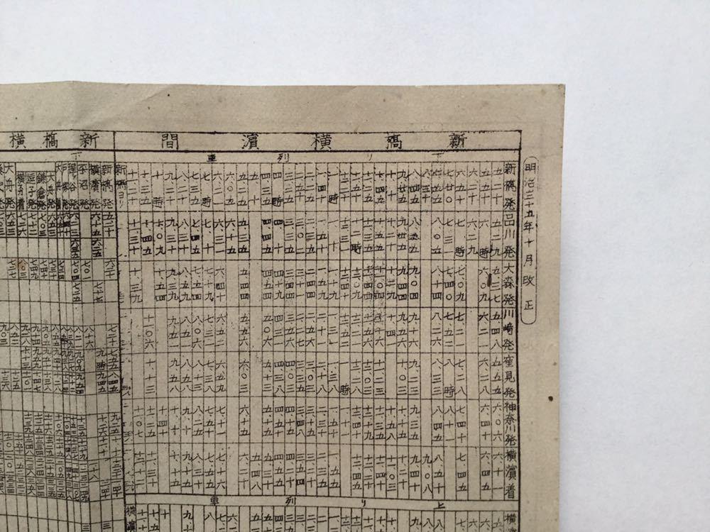 鉄道汽車時間表明治35年 時刻表 昭和33,35年 名鉄 豊橋駅 シキシマパン 全3冊_画像5