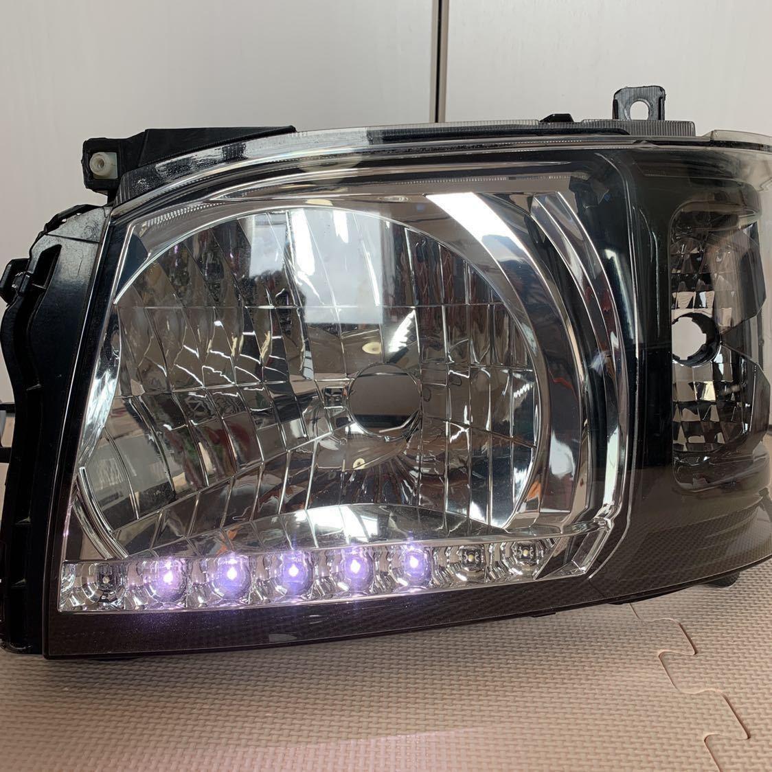 ハイエース 200 DEPO インナーブラック ヘッドライト_画像10