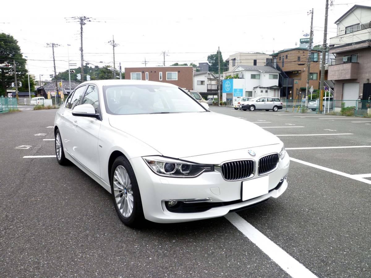 BMW F30 320iラグジュアリー アルピンホワイト 検32/09
