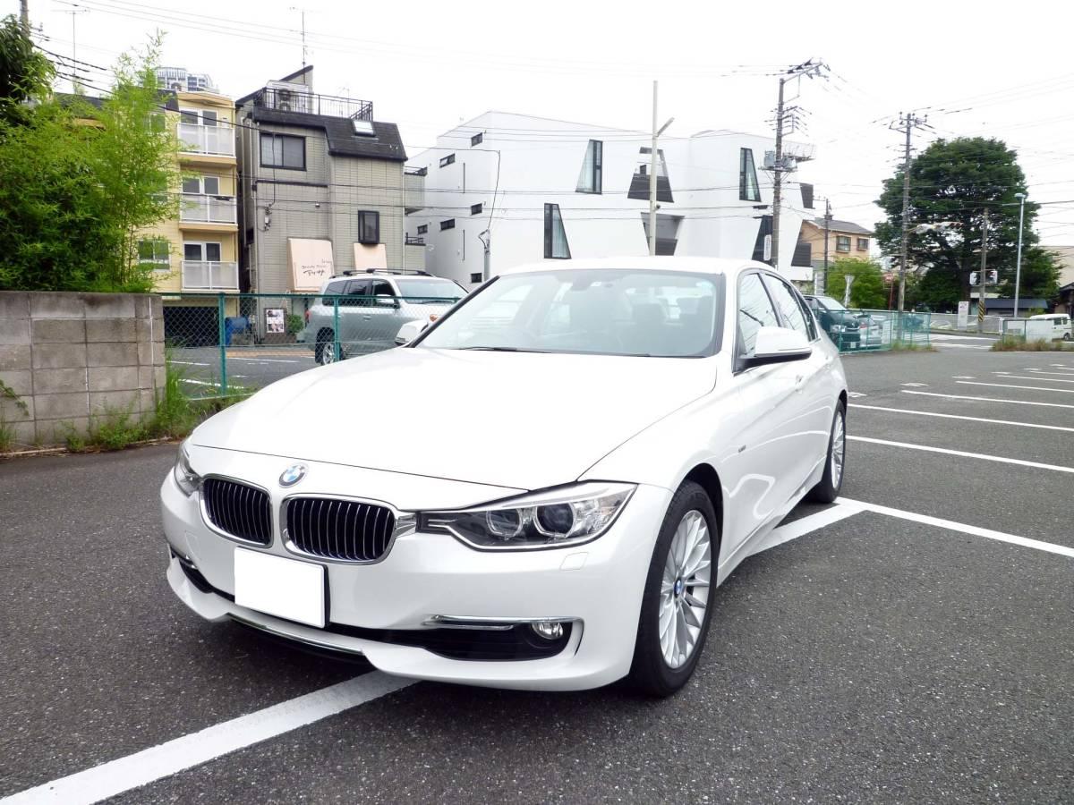 BMW F30 320iラグジュアリー アルピンホワイト 検32/09_画像5