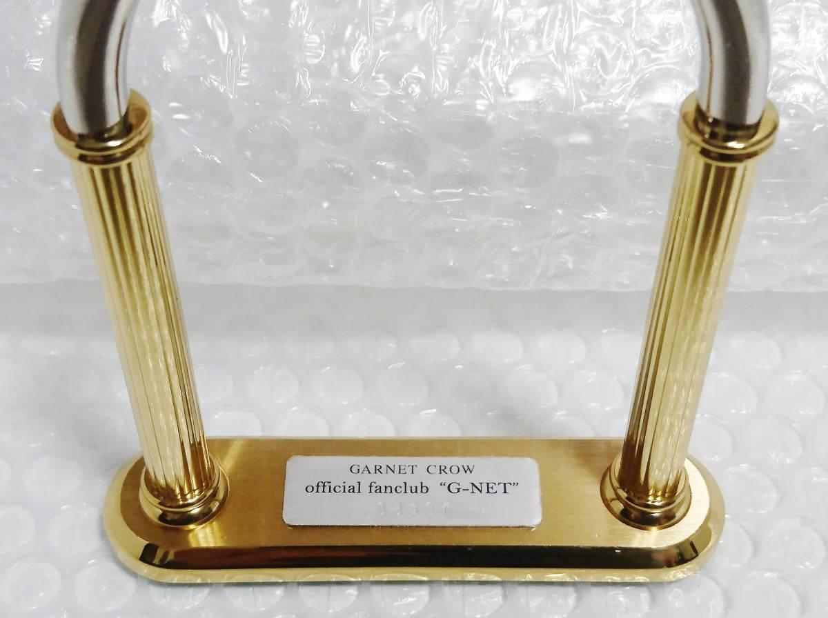 完動品+10周年記念限定品 G-NET GARNET CROW オリジナルフレーム付き 懐中時計 10th Anniversary memorial goods ガーネットクロウ_画像8