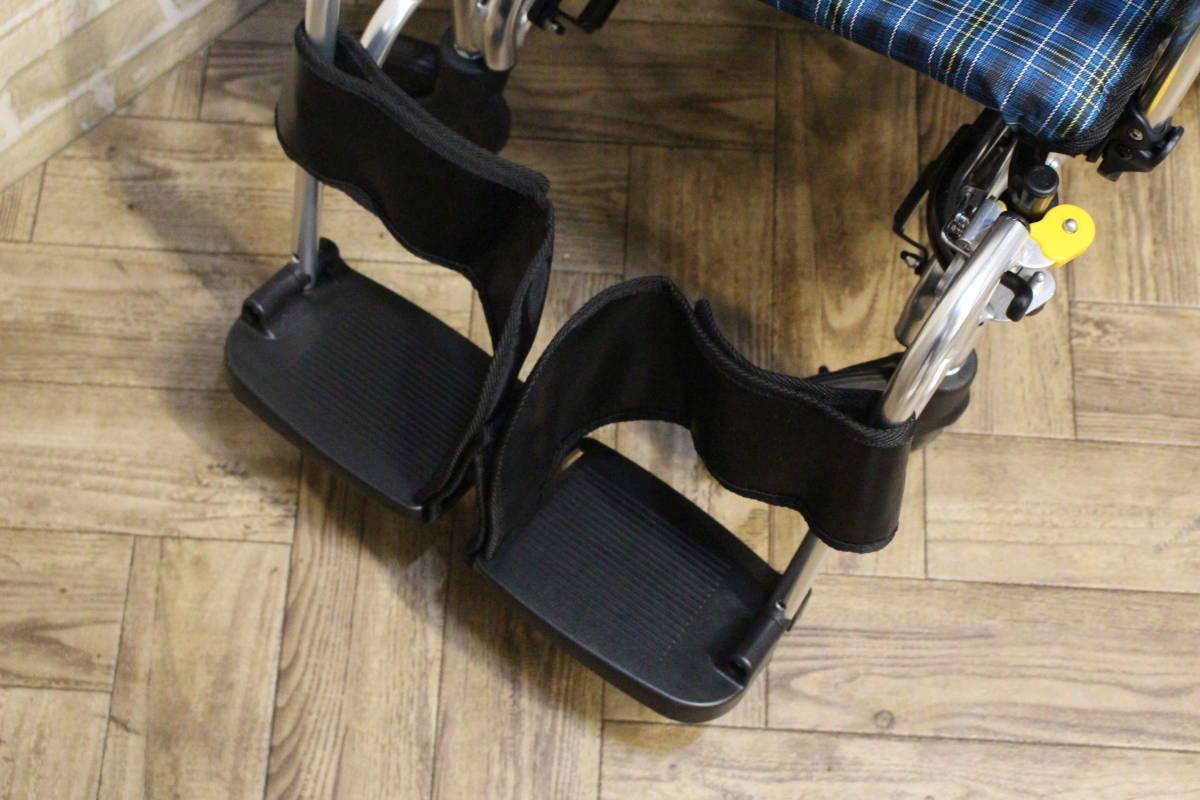 【美品】 Miki/ミキ Wheel Chair 介助型 ティルト仕様 折り畳み 車椅子 SKT-7 (W-4324)_画像2