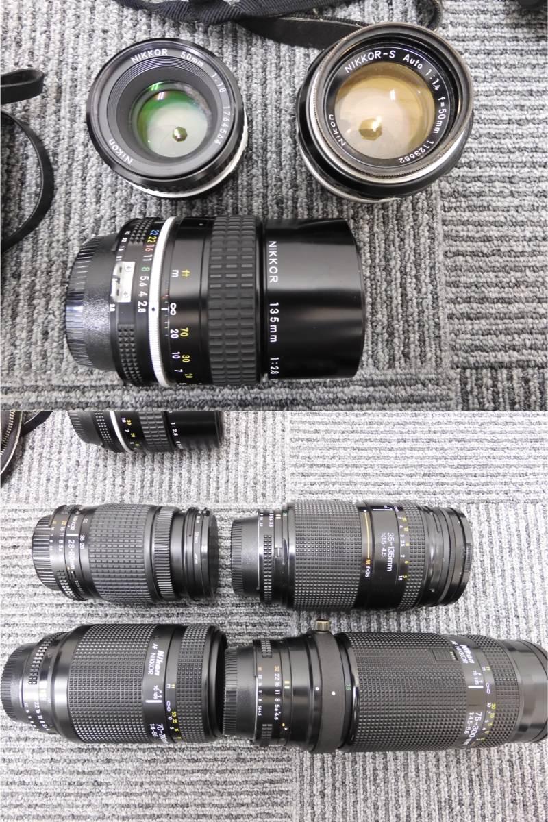 ◆【A5505】カメラ 大量 おまとめ ニコン/キャノン/オリンパス/ペンタックス/ミノルタ/レンズ/三脚/双眼鏡/ストロボ/他 ジャンク_画像3