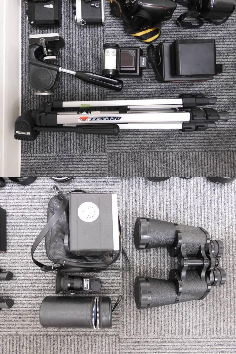 ◆【A5505】カメラ 大量 おまとめ ニコン/キャノン/オリンパス/ペンタックス/ミノルタ/レンズ/三脚/双眼鏡/ストロボ/他 ジャンク_画像7